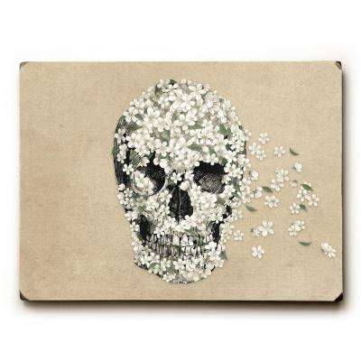 "9 in. x 12 in. ""A Beautiful Death"" by Terry Fan Solid Wood Wall Art"