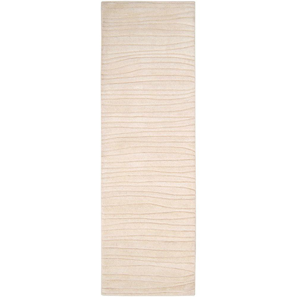 Artistic Weavers Deshler Ivory New Zealand Wool 2 ft. 6 in. x 8 ft. Area Rug