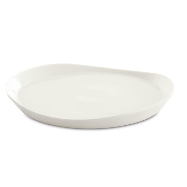 BergHOFF Eclipse White Porcelain Round Plate (Set of 4)