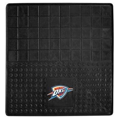 Oklahoma City Thunder Heavy Duty Vinyl 31 in. x 31 in. Cargo Mat