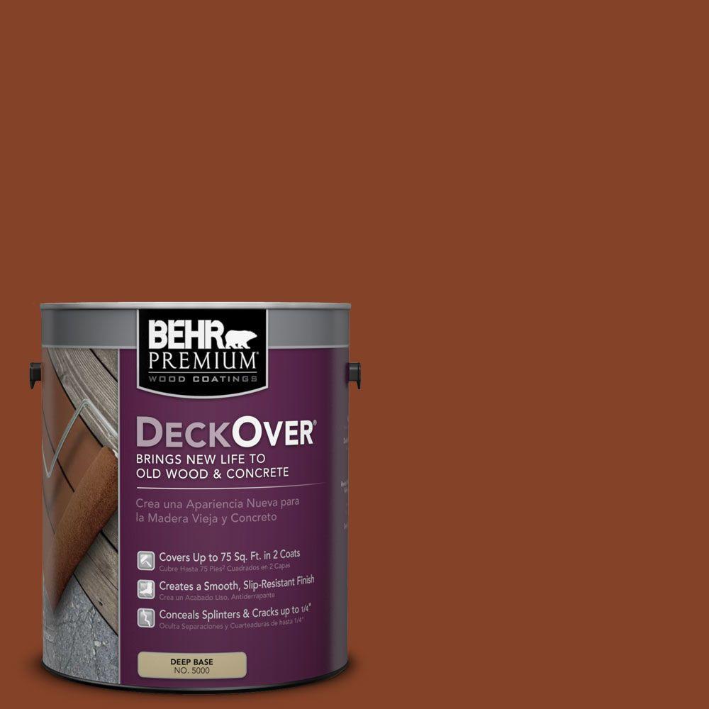 BEHR Premium DeckOver 1 gal. #SC-142 Cappuccino Wood and Concrete Coating