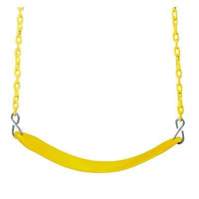 Swing Belt with Chain in Yellow