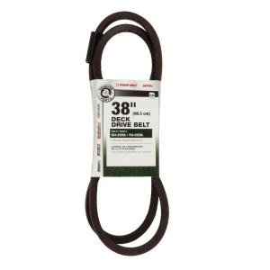 mtd genuine factory parts 38 in deck belt for 2005 and later lawn deck belt for 38 in lawn tractor 2004 and prior 754 0329a