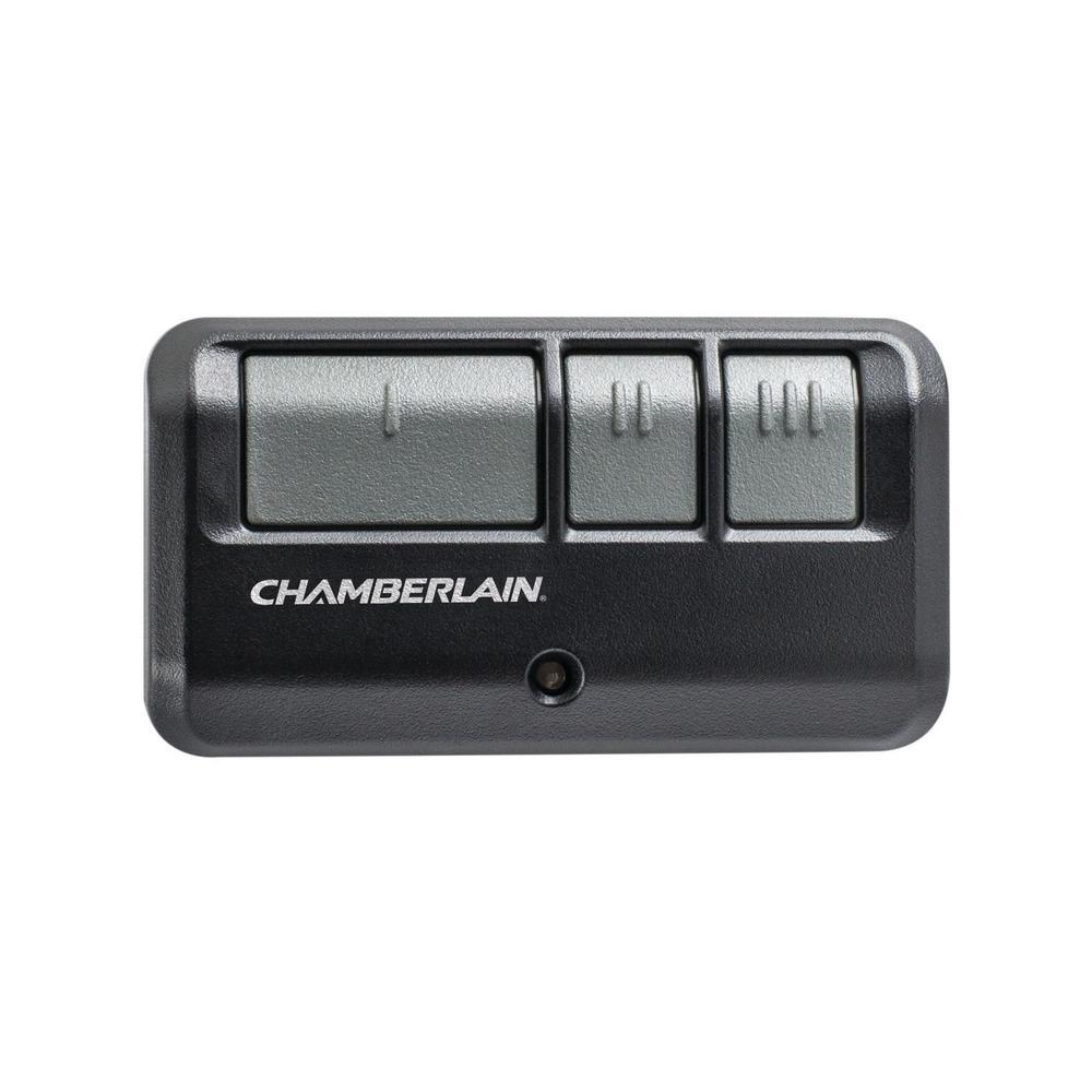 3-Button Garage Door Remote Control