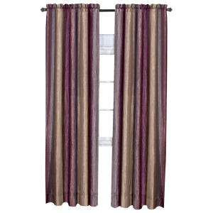 Meadow Polyester Lined Grommet Top Panel In Cardinal 50 In W X 63 In L 730462126764 The Home Depot