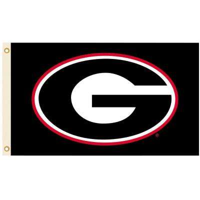 NCAA 3 ft. x 5 ft. Georgia Flag