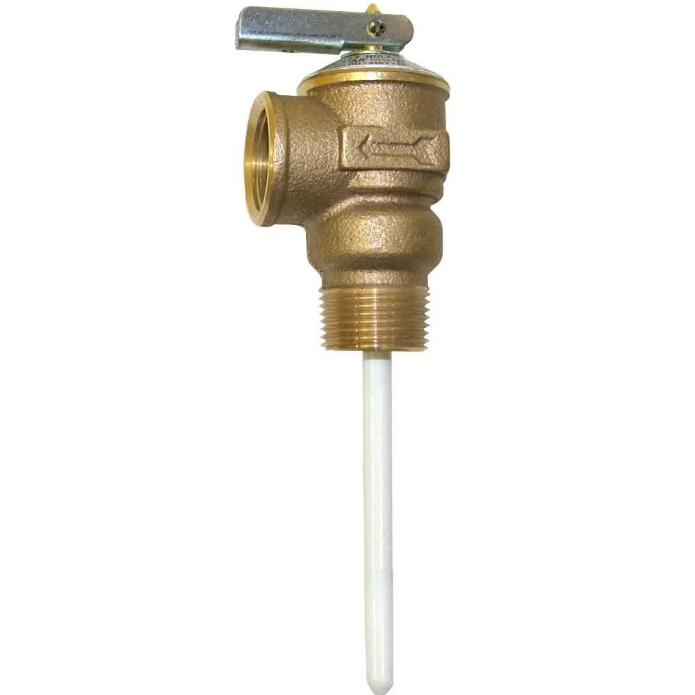 Cash Acme 3/4 in. Bronze NCLX-8 Temperature and Pressure Relief Valve