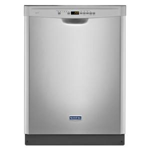 Click here to buy Maytag Front Control Dishwasher in Fingerprint Resistant Stainless Steel with Stainless Steel Tub by Maytag.