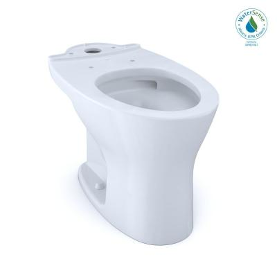 Drake Elongated Universal Height Toilet Bowl Only with CEFIONTECT in Cotton White
