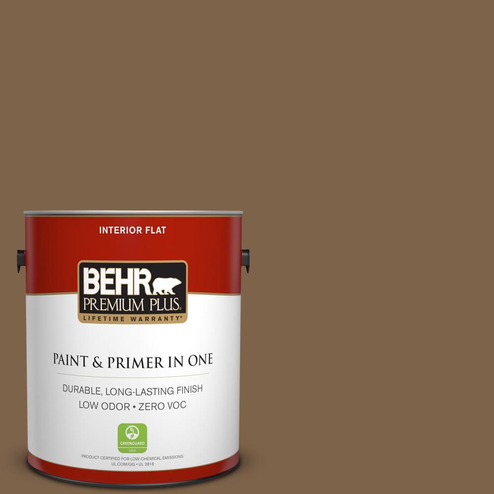 1 gal. #PPU4-19 Arts and Crafts Zero VOC Flat Interior Paint