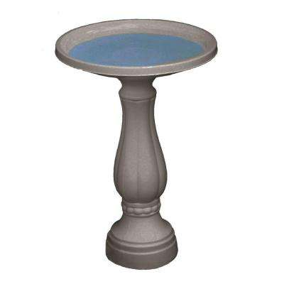 Promo Bird Bath in Peppercorn