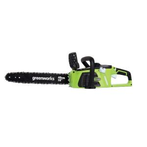 Greenworks G-MAX DigiPro 16 inch 40-Volt Brushless Cordless Chainsaw - Battery and Charger Not Included by Greenworks