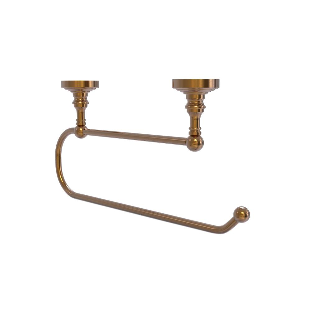 moen ashville pivoting double post toilet paper holder in mediterranean bronze dn7908brb the. Black Bedroom Furniture Sets. Home Design Ideas