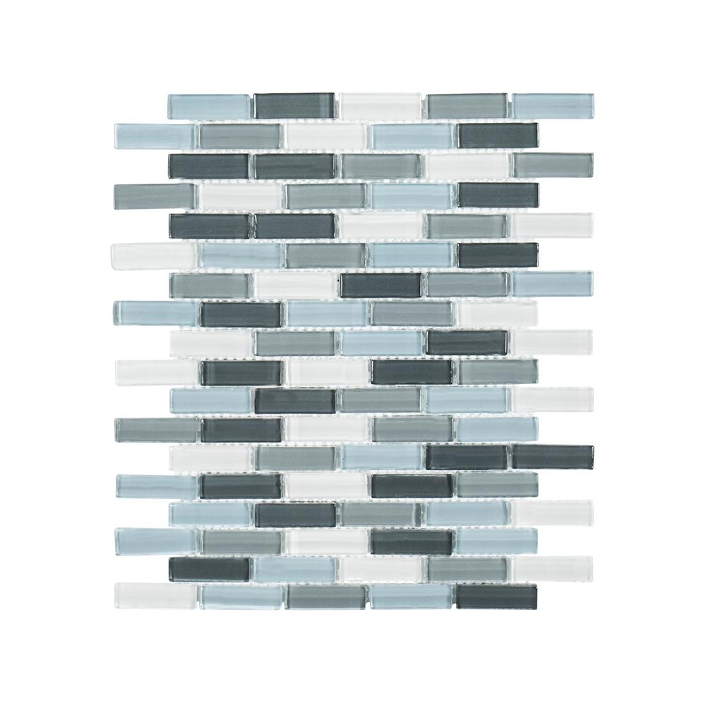 Jeffrey Court Malibu Breeze 9-3/4 in. x 11-7/8 in. x 8 mm Glass ...