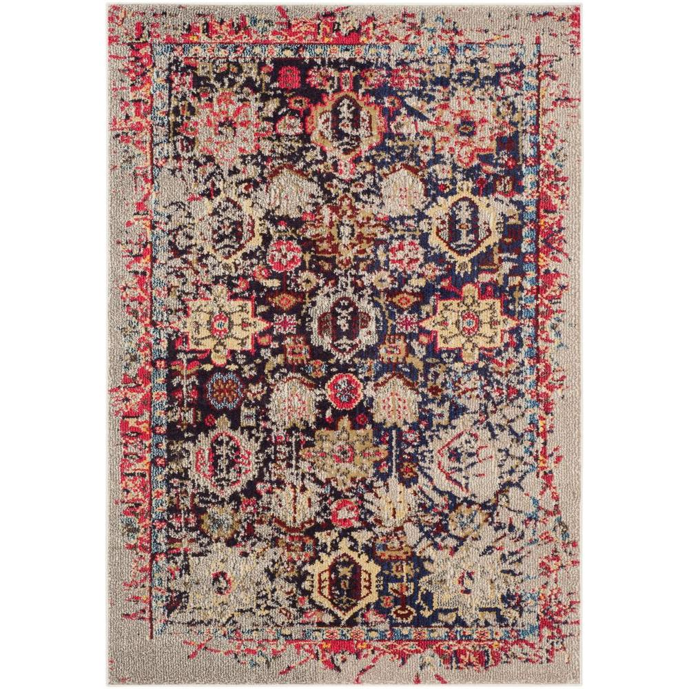 Safavieh Monaco Grey Multi 3 Ft X 5 Area Rug