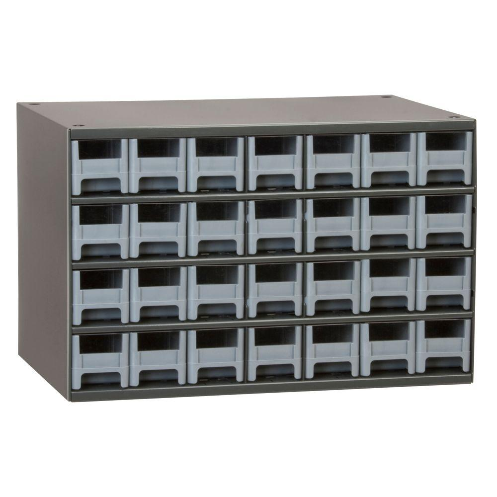 Akro Mils 28 Drawer Small Parts Steel Cabinet 19228 The