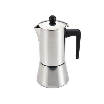 6-Cup Stovetop Espresso Maker in Stainless Steel
