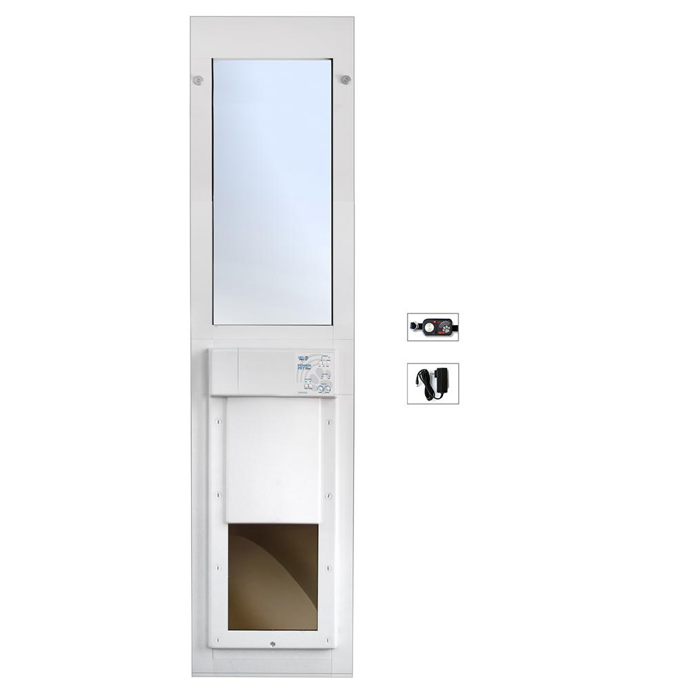 Bon High Tech Pet 12 In. X 16 In. Electronic Pet Patio Door For Sliding