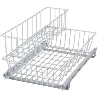 9.31 in. x 12.13 in. x 19.13 in. Multi-Use Basket