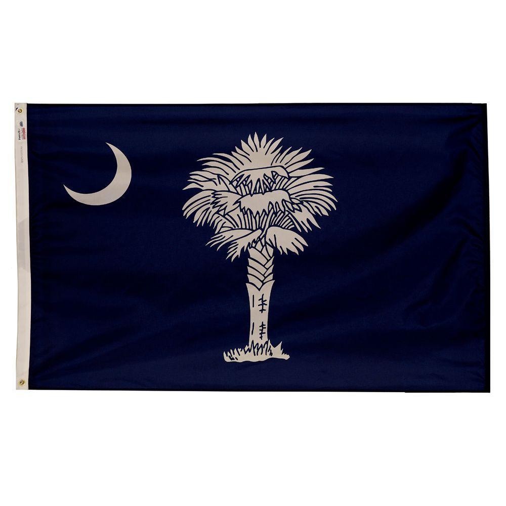3 ft. x 5 ft. Nylon South Carolina State Flag