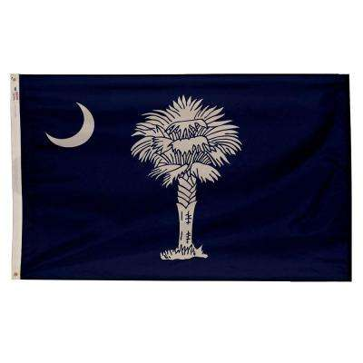 3 ft. x 5 ft. Nylon South Carolina State Flag