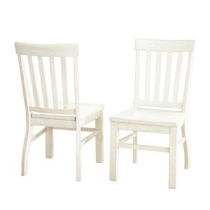Magnificent Cayla White Side Chair Set Of 2 Andrewgaddart Wooden Chair Designs For Living Room Andrewgaddartcom