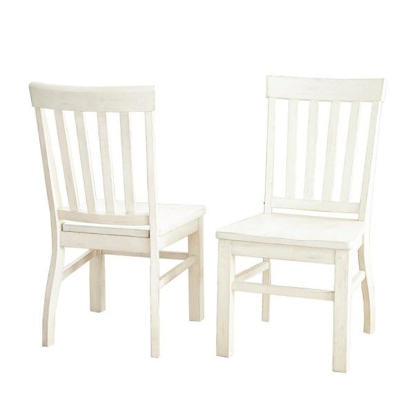 Steve Silver Company Cayla White Side Chair Set Of 2 Cy400sw The