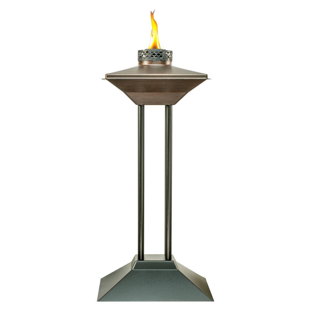 Genial Cordoba Metal Patio Torch Bronze