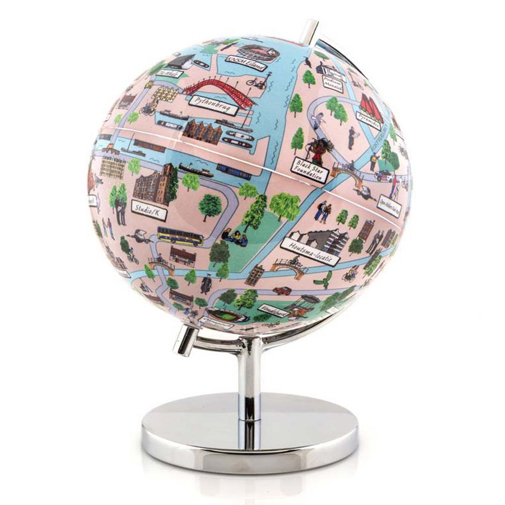 Amsterdam 4 in. Globe