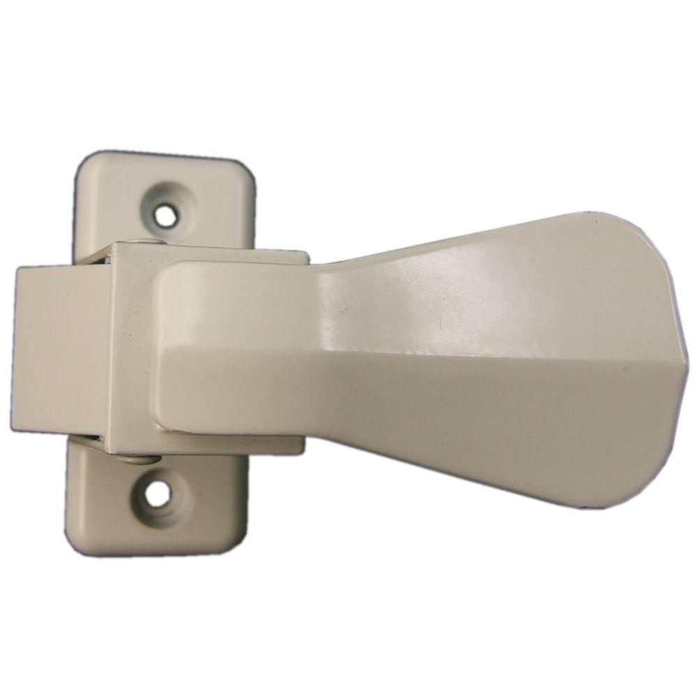 IDEAL Security Inside Latch With Strike, White