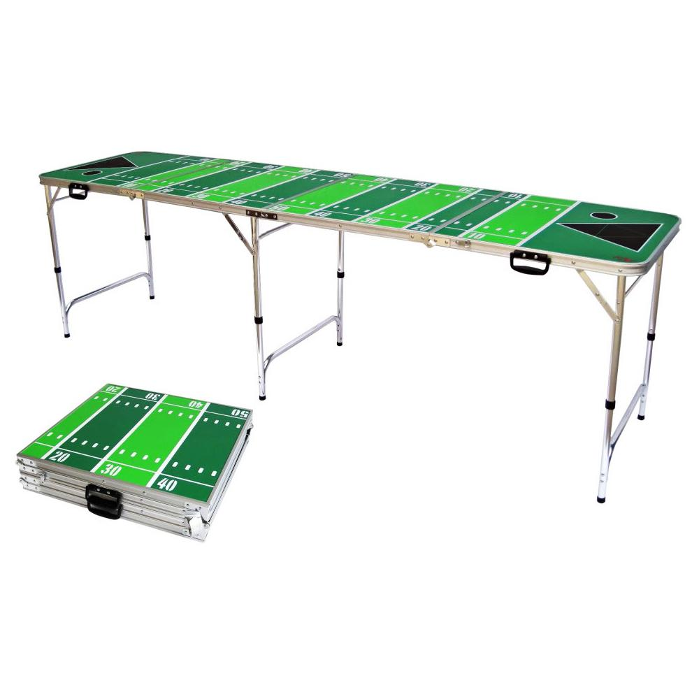 Red cup pong 8 ft folding beer pong table with bottle opener ball rack and 6 pong balls - Professional beer pong table ...
