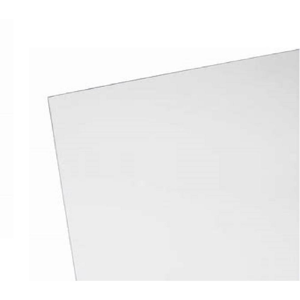 24 in. x 32 in. x .118 in. Clear Dry Erase