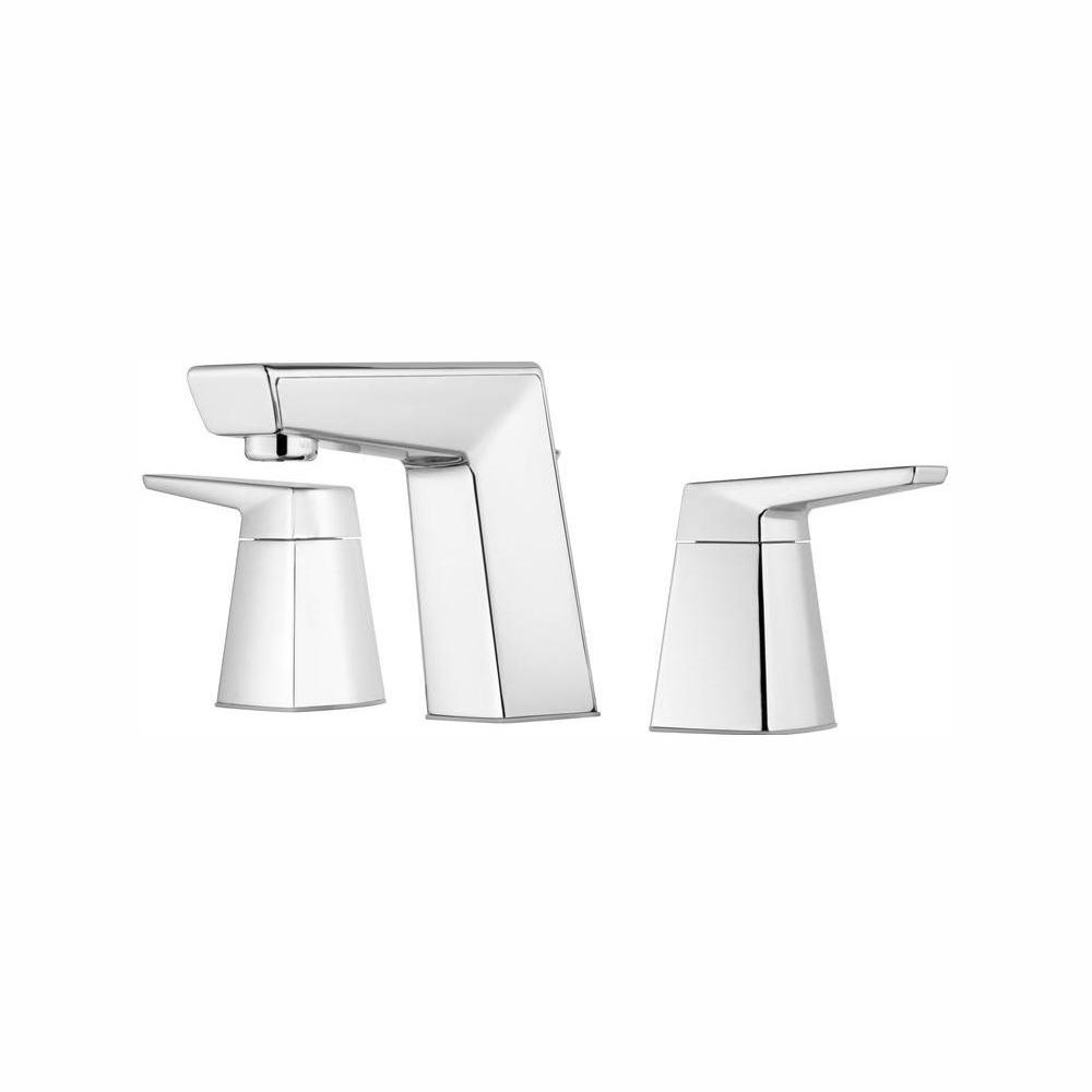 Pfister Arkitek 8 in. Widespread 2-Handle Bathroom Faucet in Polished Chrome