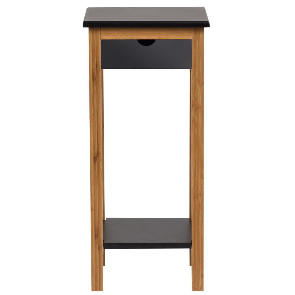 Black Display Table