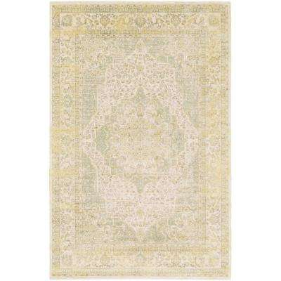 Saverio Bright Yellow 2 ft. 1 in. x 3 ft. Indoor Area Rug