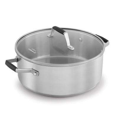 Select 5 Qt. Stainless Steel Dutch Oven with Lid