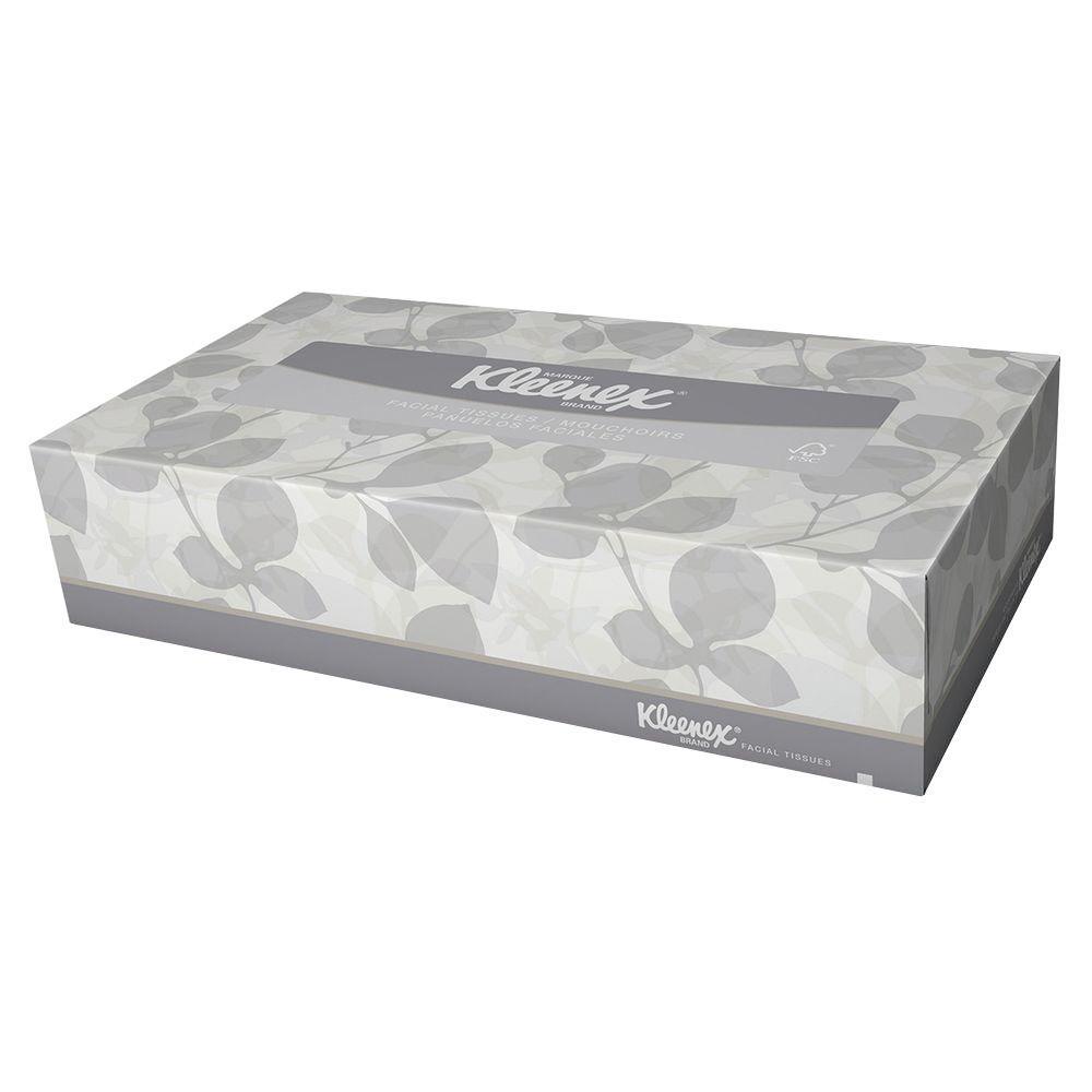 Kleenex Facial Tissue 2-Ply (125-Count)
