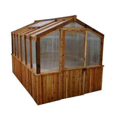 Cedar 8 ft. x 12 ft. Greenhouse Kit