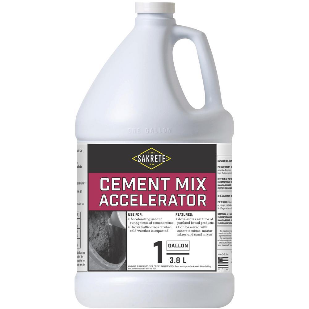 SAKRETE 1 Gal  Cement Mix Accelerator