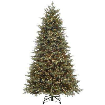 7.5 ft. Pre-Lit LED Color Changing Artificial Christmas Tree with 5000 Micro Dot Lights