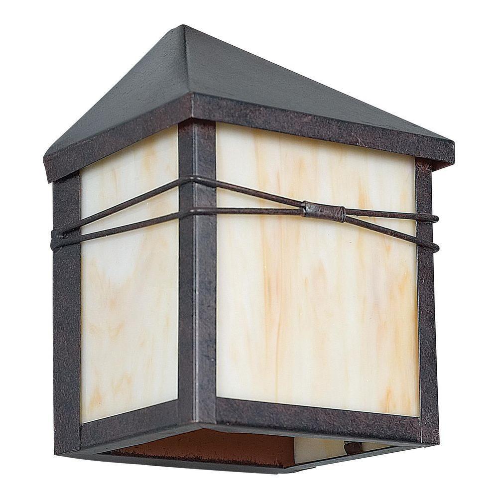 Rosecrans 1-Light Oil Rubbed Bronze Outdoor Wall Light