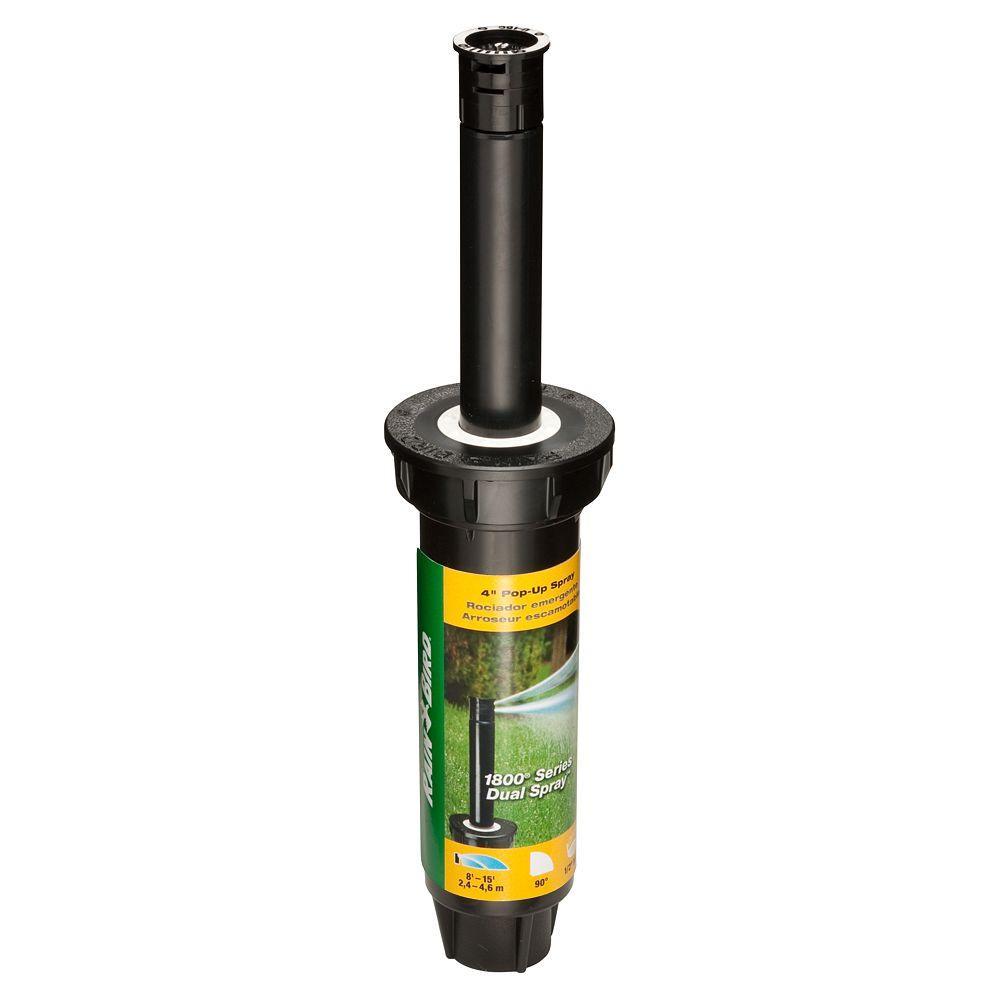 Rain Bird 1804 Dual Spray Quarter Pattern 4 in. Pop-Up Spray Head