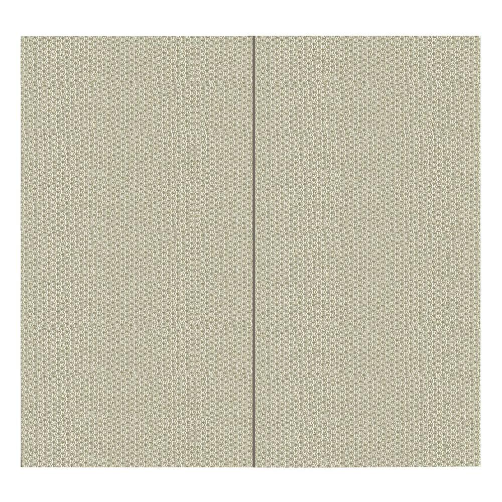 SoftWall Finishing Systems 64 sq. ft. Goldust Fabric Covered Full Kit Wall Panel