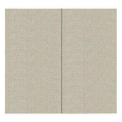 64 sq. ft. Goldust Fabric Covered Full Kit Wall Panel