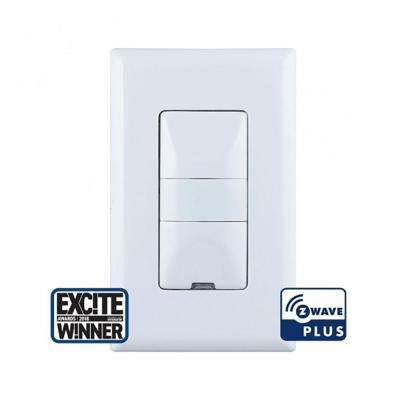 Z Wave Plus 500 Series Motion Sensing In Wall Dimmer