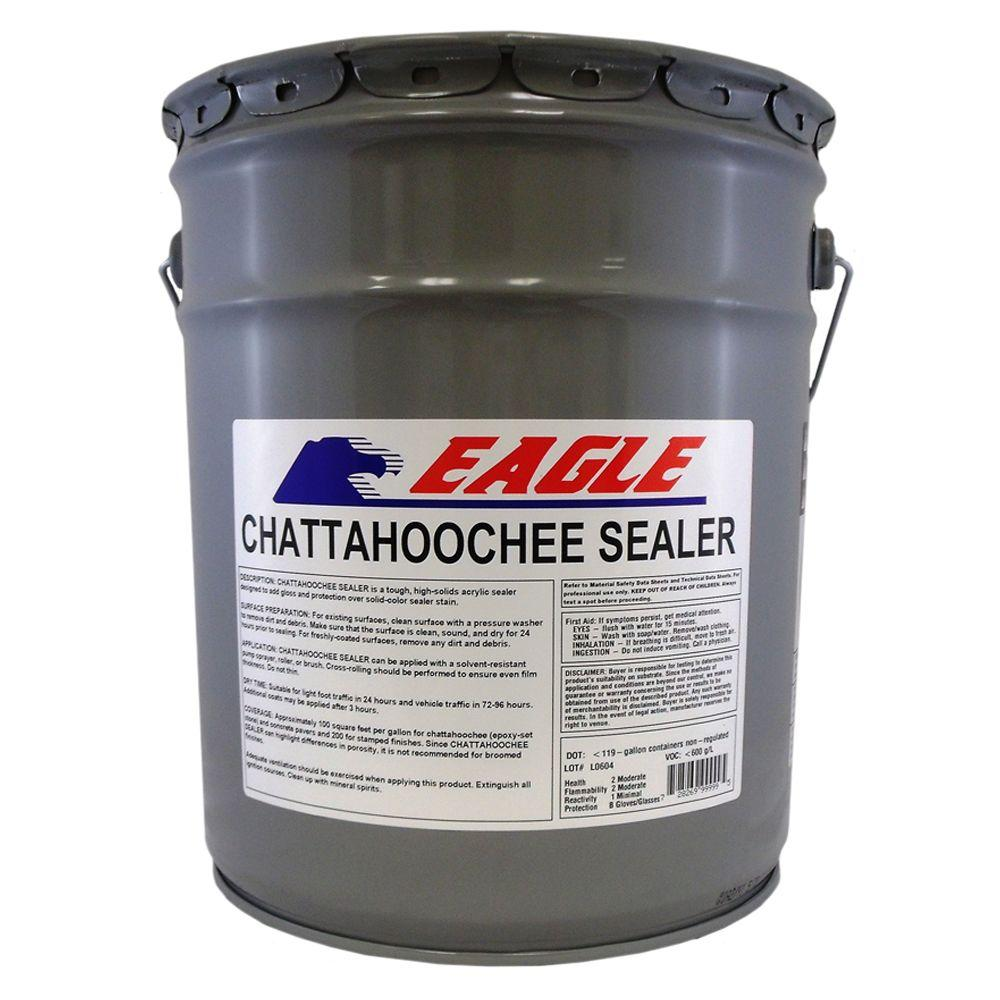 Eagle 5 gal. Clear High Gloss Oil Based Acrylic Chattahoochee Sealer