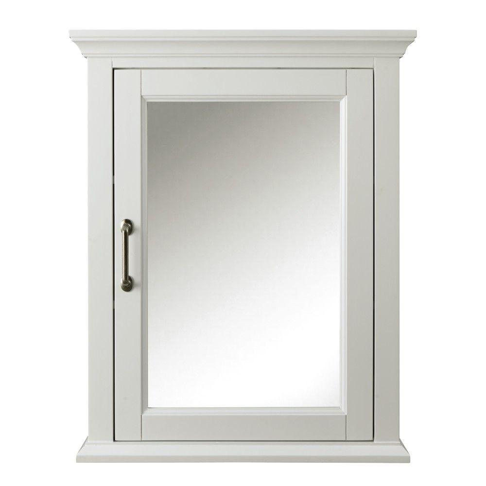 Home Decorators Collection Charleston 24 In W X 30 In H X 7 1 2 In D Framed Bathroom Medicine