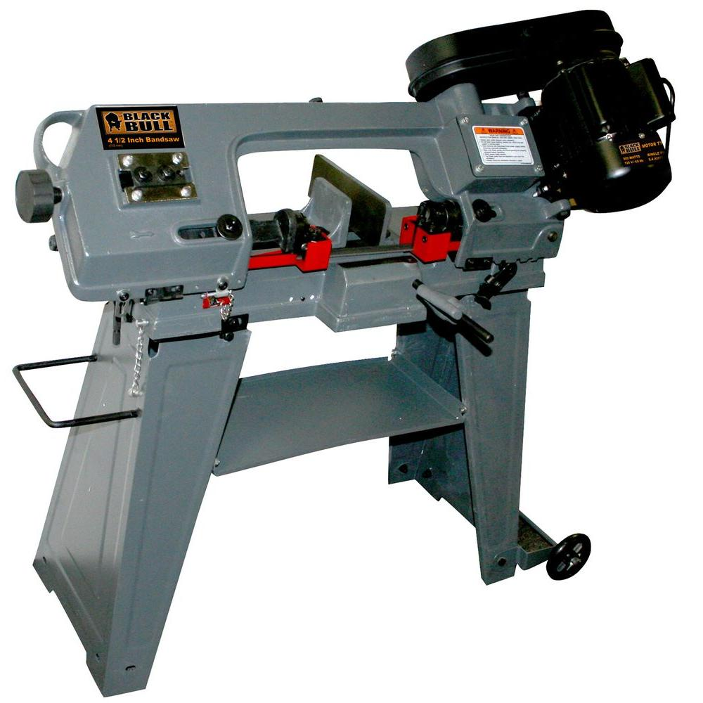 BLACK BULL 5.4-Amp 4-1/2 in. Professional-Duty Metal Band Saw