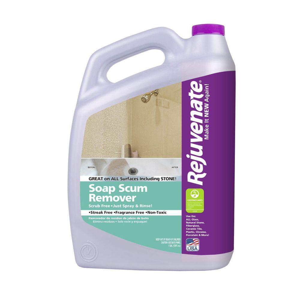 Rejuvenate 128 Oz Soap Scum Remover Rj128ssr The Home Depot