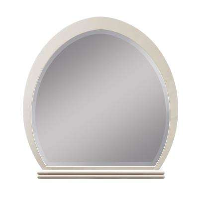 Allendale Ivory and Latte High Gloss Mirror